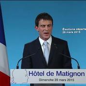 Valls : «Mon gouvernement redoublera d'efforts»