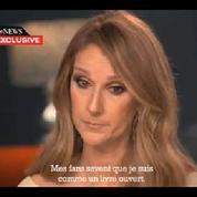 En larmes, Céline Dion parle du combat de son mari contre le cancer