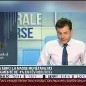 Zone euro: La masse monétaire M3 a augmenté de 4% en févier: Gilles Moëc