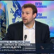 Jean-Charles Simon: Contrat de génération: le gouvernement toujours loin de ses objectifs