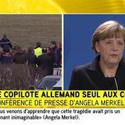 Crash de l'A320 : Merkel promet de tout faire pour soutenir l'enquête