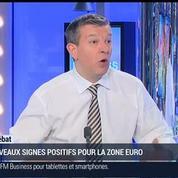 Nicolas Doze: Indice PMI: On peut considérer qu'il y a un phénomène de reprise dans la zone euro