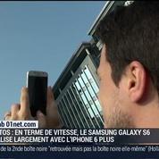 Le test du Samsung Galaxy S6 par le Lab 01net.com