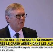 Crash A320 : «72 passagers de nationalité allemande» selon Germanwings