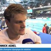 Document RMC Sport / Agnel : Camille veille sur nous
