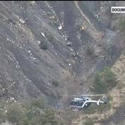 Crash de l'A320 : les images aériennes du lieu du drame