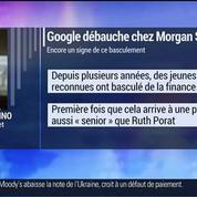 Marc Fiorentino: Google débauche la directrice financière de Morgan Stanley