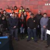 Crash : une minute de silence observée devant l'aéroport de Barcelone