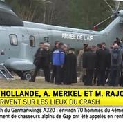 François Hollande et Angela Merkel sont arrivés à Seyne-les-Alpes