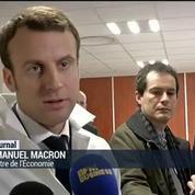 Macron : un nouveau projet de loi sur les PME, le numérique et la relance de l'investissement.