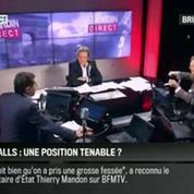 Brunet & Neumann: Défaite de la gauche aux départementales: la position de Valls est-il tenable ?