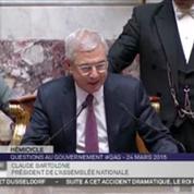 Crash A320 : l'Assemblée nationale respecte une minute de silence