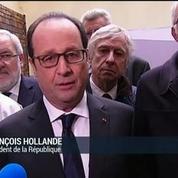 François Hollande chez PSA en Moselle