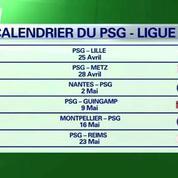 Le PSG veut finir la saison en beauté