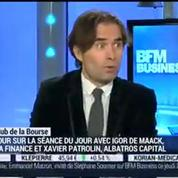 Le Club de la Bourse: Xavier Patrolin, Igor de Maack et Jérôme Vinerier