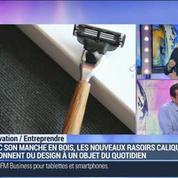 Caliquo lance un rasoir à manche en bois conçu en France: Grégoire Le Lanchon