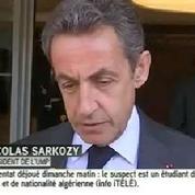 Attentats déjoués : Sarkozy appelle à