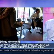 La marque Burger King a réussi son retour en France: Jocelyn Olive –
