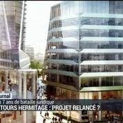 Les tours Hermitage: projet relancé ?