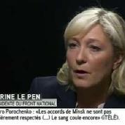 Marine Le Pen dénonce