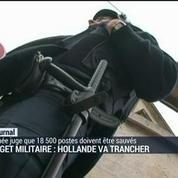 Budget militaire: Hollande va trancher