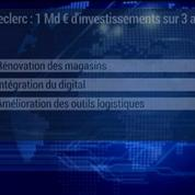Leclerc : 1 milliard d'investissements sur 3 ans