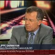 Philippe Darmayan, président d'ArcelorMittal France (2/3)