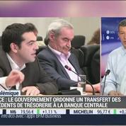 Nicolas Doze: Grèce: les excédents de trésorerie du secteur public iront à la banque centrale
