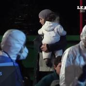 98 migrants syriens rescapés accueillis en Sicile