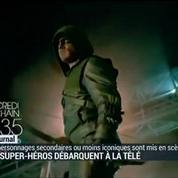 Les super-héros débarquent à la télé