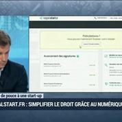 Coup de pouce à une start-up: Legalstart.fr