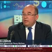 Fleury Michon a publié ses résultats annuels: Régis Lebrun