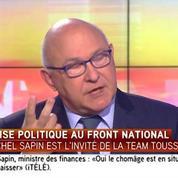 Pour Sapin, les propos de Le Pen sont