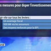 Les mesures pour doper l'investissement