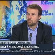Jean-Charles Simon: Attention à ne pas exagérer la reprise économique !