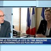 Marine Le Pen personnalité influente selon le Time: un classement un peu exotique juge Eric Woerth