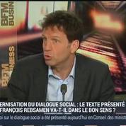 Geoffroy Roux de Bézieux, vice-président du Medef (1/2)