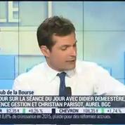 Le Club de la Bourse: Didier Demeestère, Christian Parisot et Stéphane Ceaux-Dutheil