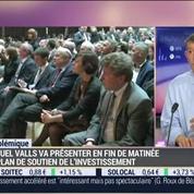 Nicolas Doze: Manuel Valls va présenter un plan de soutien à l'investissement