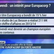 Le titre Europacorp en forte hausse