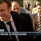 Dailymotion: Macron s'oppose aux négociations avec le chinois PCCW
