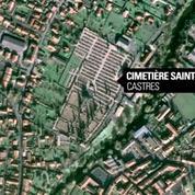 Tarn: environ 250 tombes vandalisées dans un cimetière de Castres