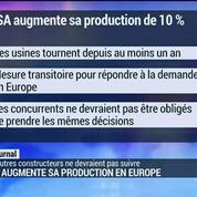 PSA augmente sa production en Europe