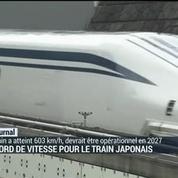 Ce train japonais va aussi vite qu'un avion