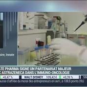 La biotech Innate Pharma a signé un partenariat majeur avec AstraZeneca: Hervé Brailly