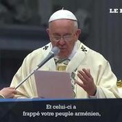 Le pape François évoque le