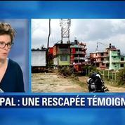 Séisme au Népal: Les sensations sont encore traumatisantes, témoigne une rescapée française
