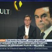 L'Etat monte chez Renault: stratégie ou politique ? (1/4)