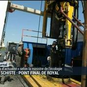 Gaz de schiste : Point final de Royal
