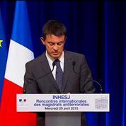 Menace jihadiste: Valls annonce une prise en charge des jeunes de retour de zones de conflit